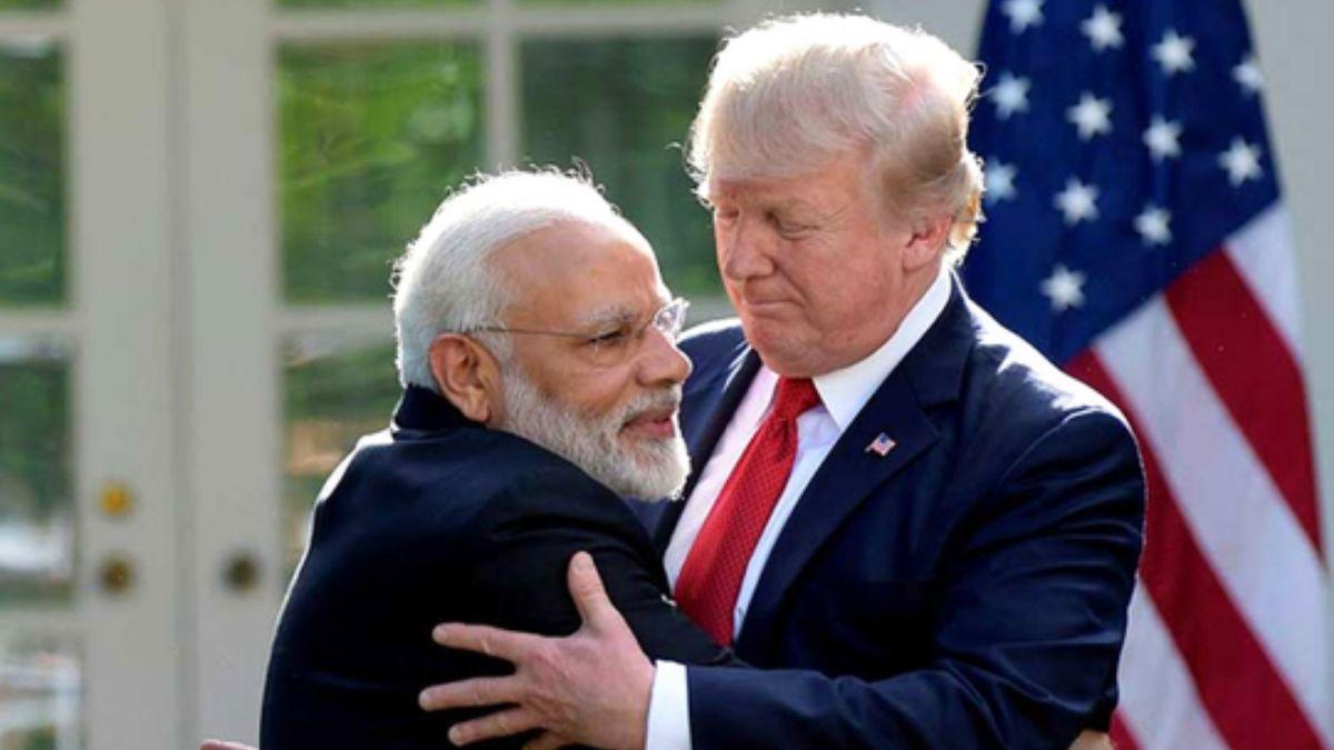 trump on US India partnership