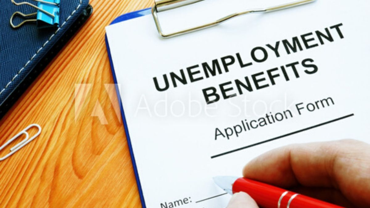 Application Form For Unemployment Benefits