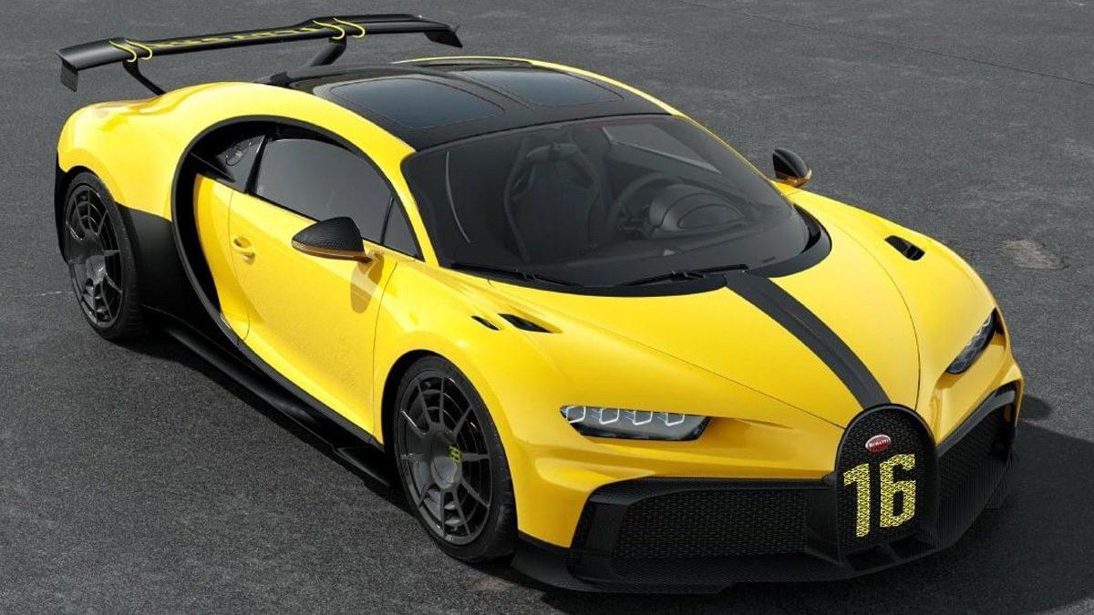 Bugatti Chiron Pur Sport Car