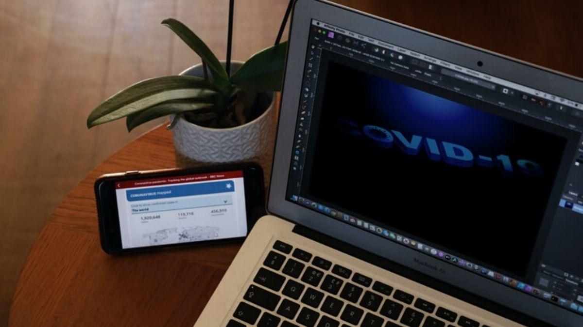 COVID-19 Laptop