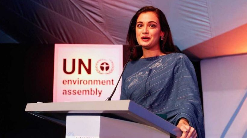Dia Mirza At A UNEP