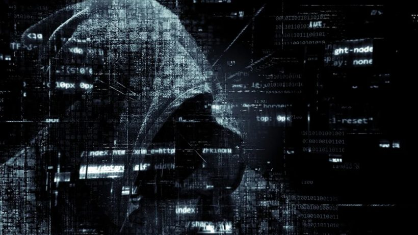 A Photograph Representing Hacker