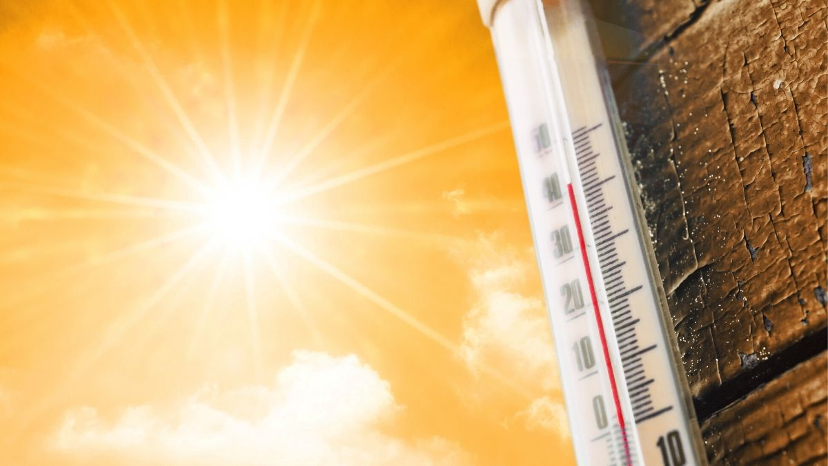 A Thermometer And The Scorching Sun