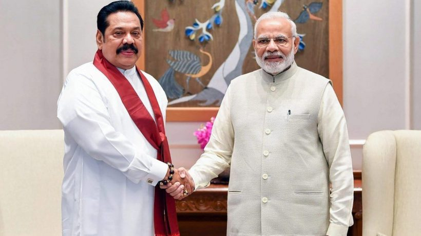 Modi speaks Sri Lanka PM