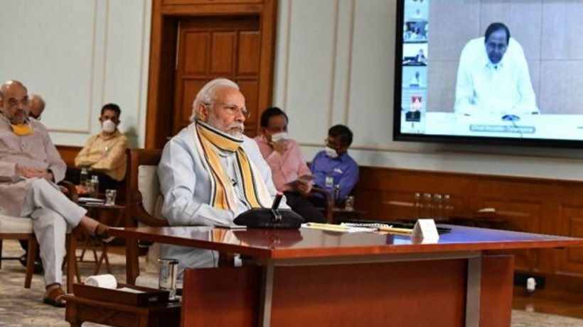 Modi Speaking To Sri Lankan President