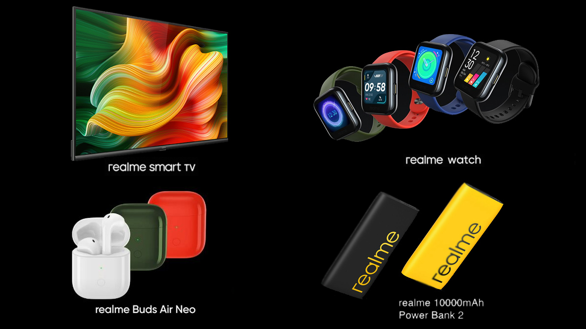 Realme Presents New Products