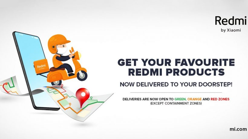 Redmi Product Delivery