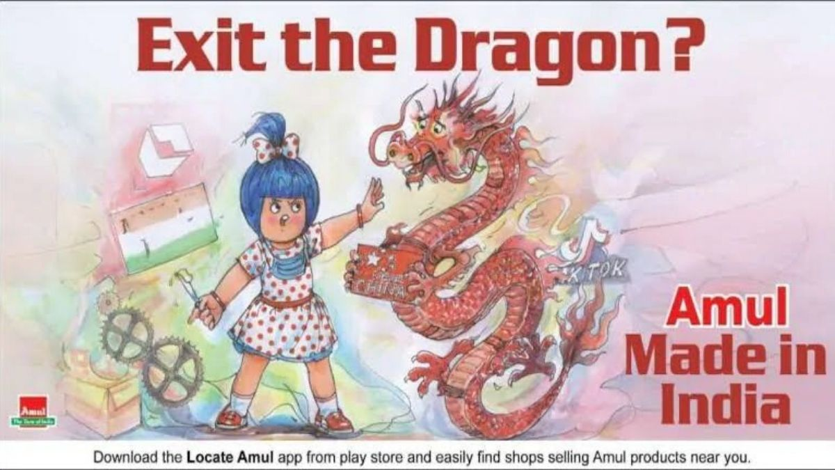 Amul Twitter Exit The Dragon
