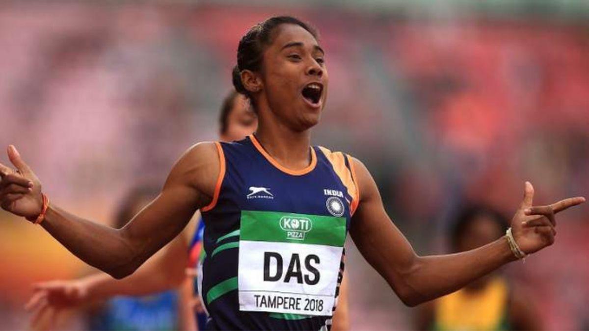 Hima Das, Sprinter