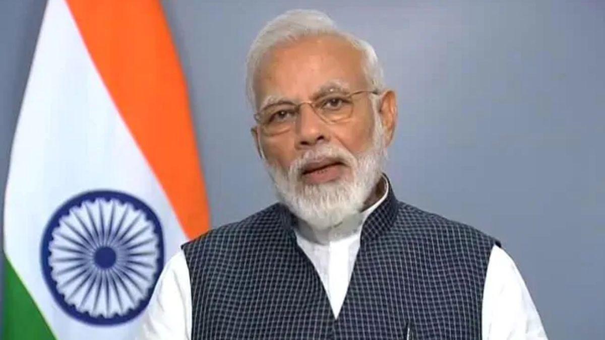 Modi Holds Meeting