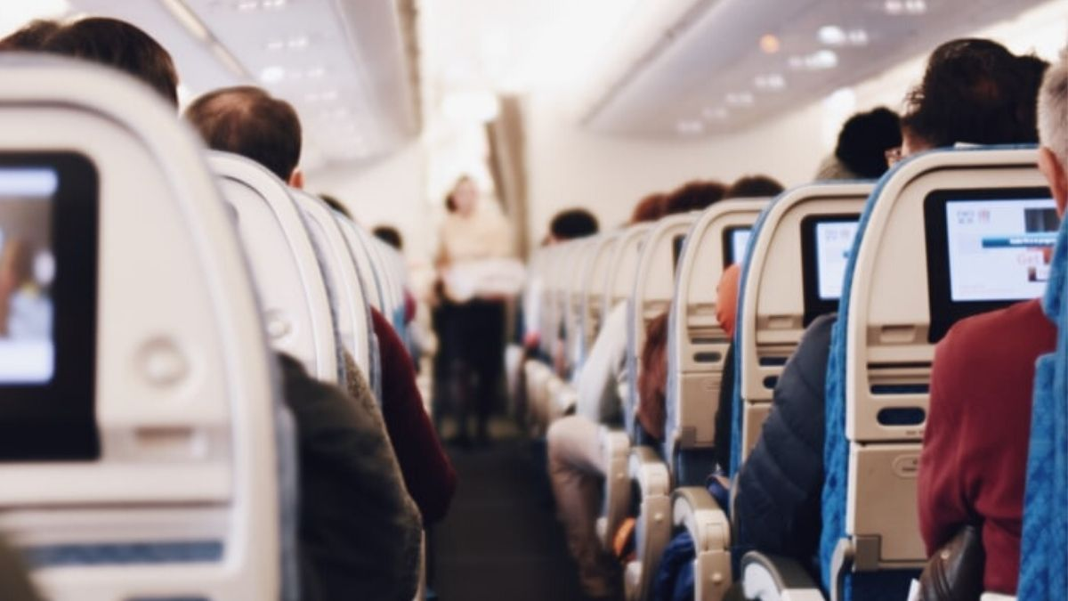 Passengers In A Plane