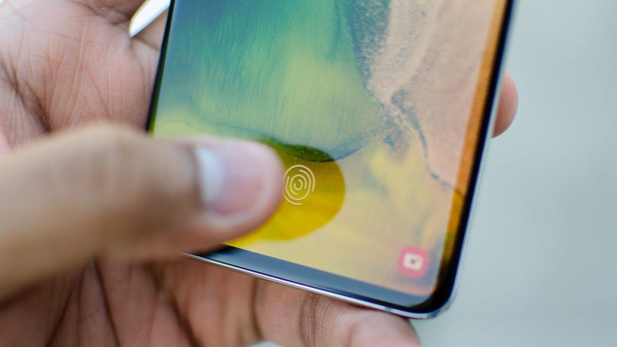 Samsung Phone Fingerprint Sensor