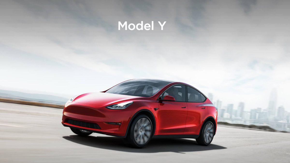 Tesla Model Y Car