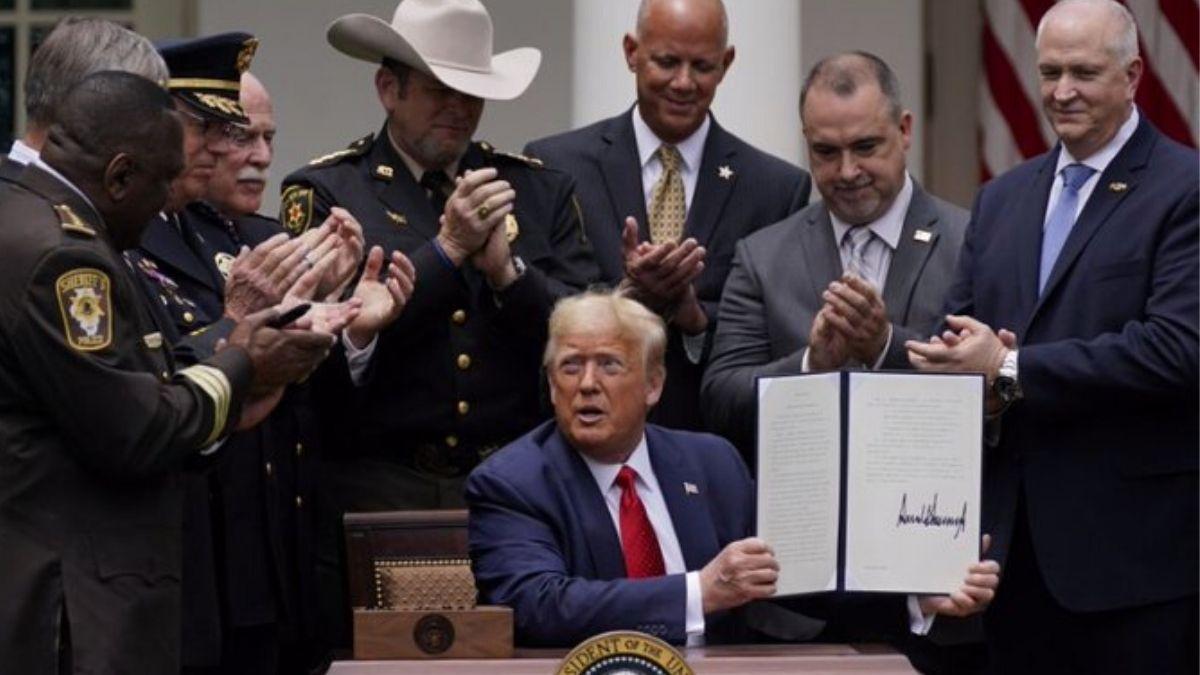 Trump Signed Order