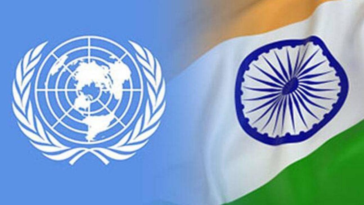 UNSC India Flag