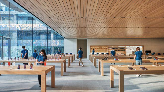 Apple Sanlitun Inside