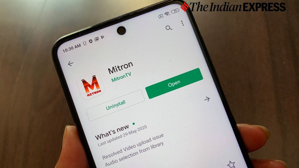 Mitron App On Android Mobile