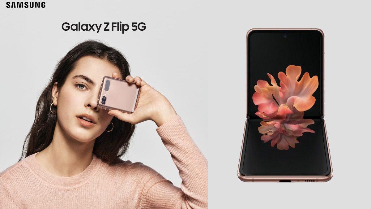 Galaxy Z Flip 5G Smartphone