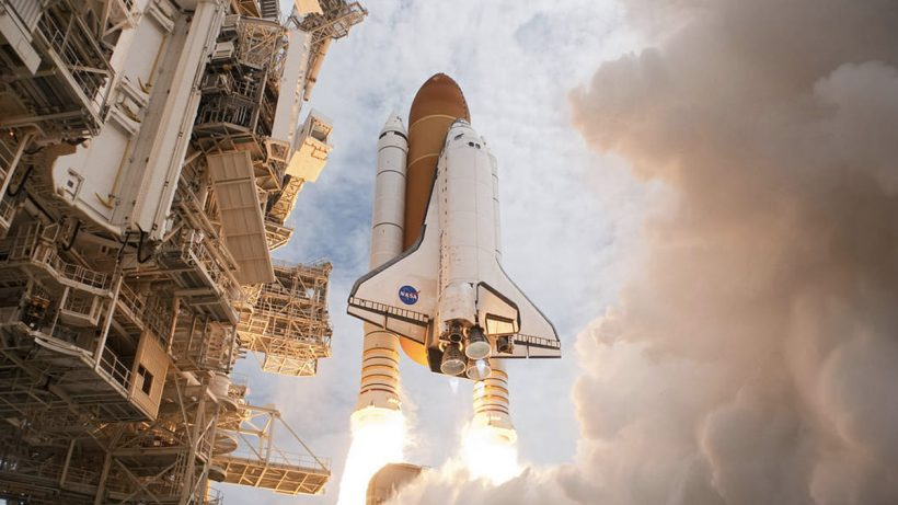 NASA Atlantis space shuttle