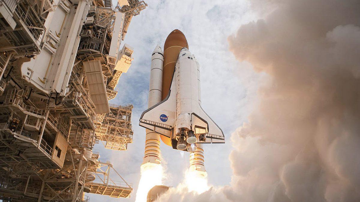 NASA Atlantis space shuttle
