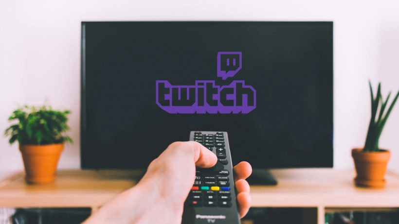 Twitch App On A Smart TV