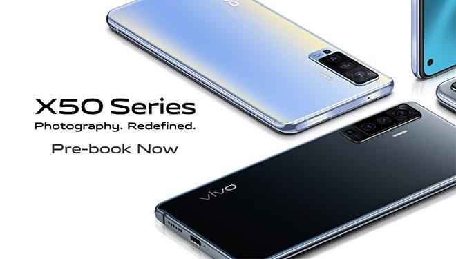 Vivo X50 Series