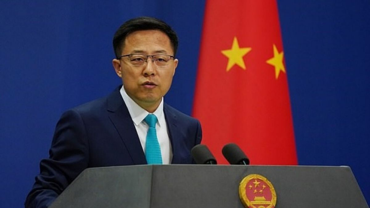 Chinese Foreign Ministry Spokesman Zhao Lijian – File Pi