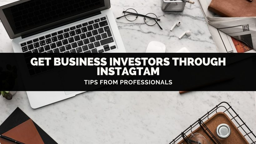 Business investor Instagram