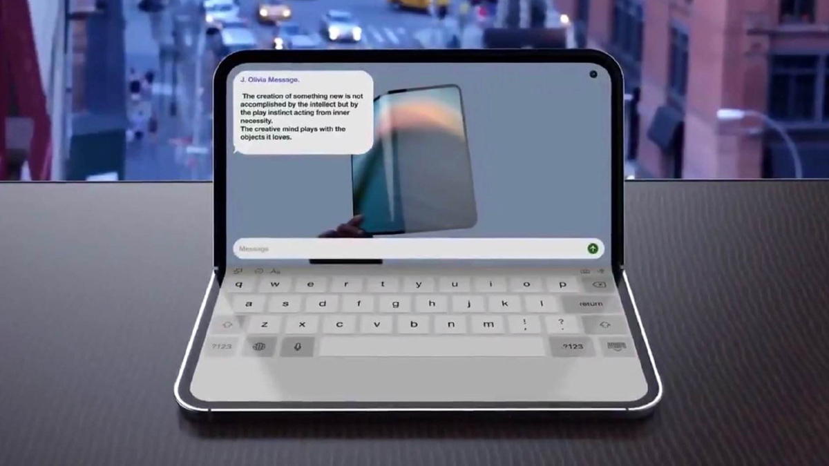 Apple Foldable iPad