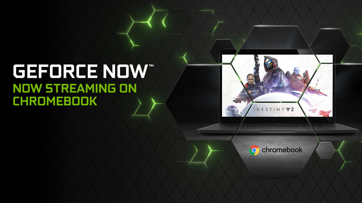 GeForce Streaming in CAChromebook