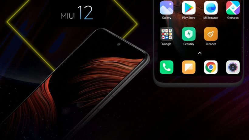 POCO Smartphones Runs On MIUI 12