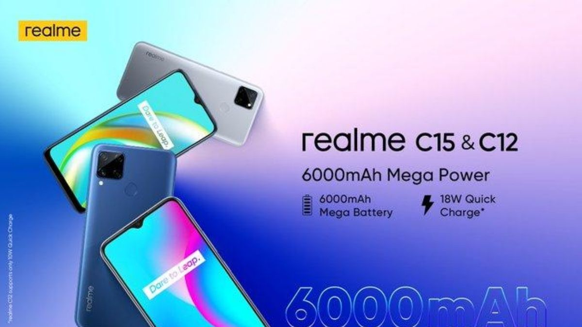 Realme C12 C15 Launch