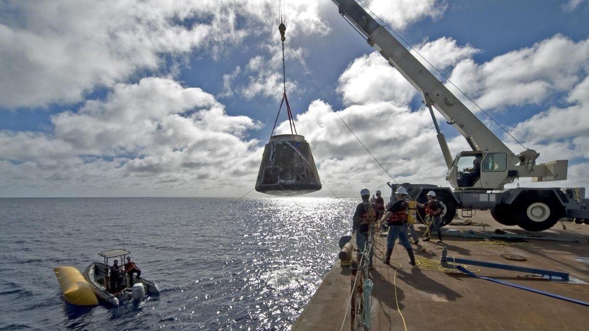 SpaceX Capsule