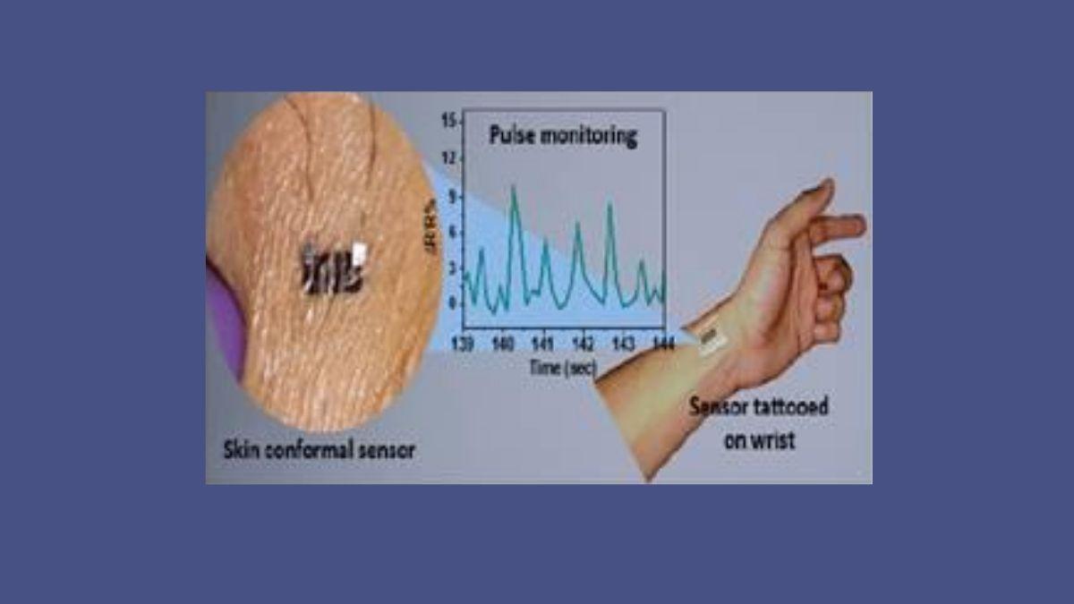 Tattoo Sensor For Monitoring Health