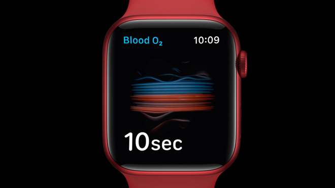 Apple Watch Series 6 Blood