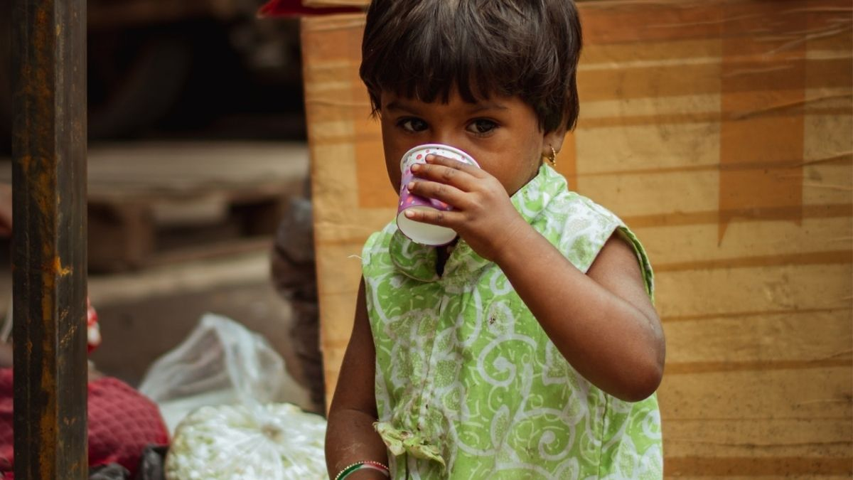Poverty Struck Child