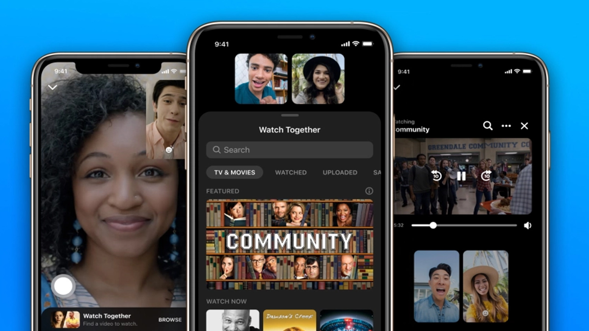 Now, you can have 'watch parties' on Facebook Messenger calls