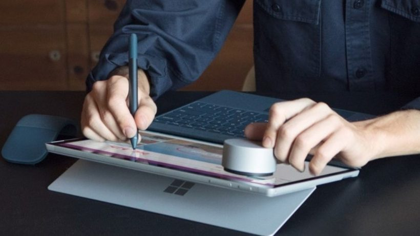 microsoft surface pen patent