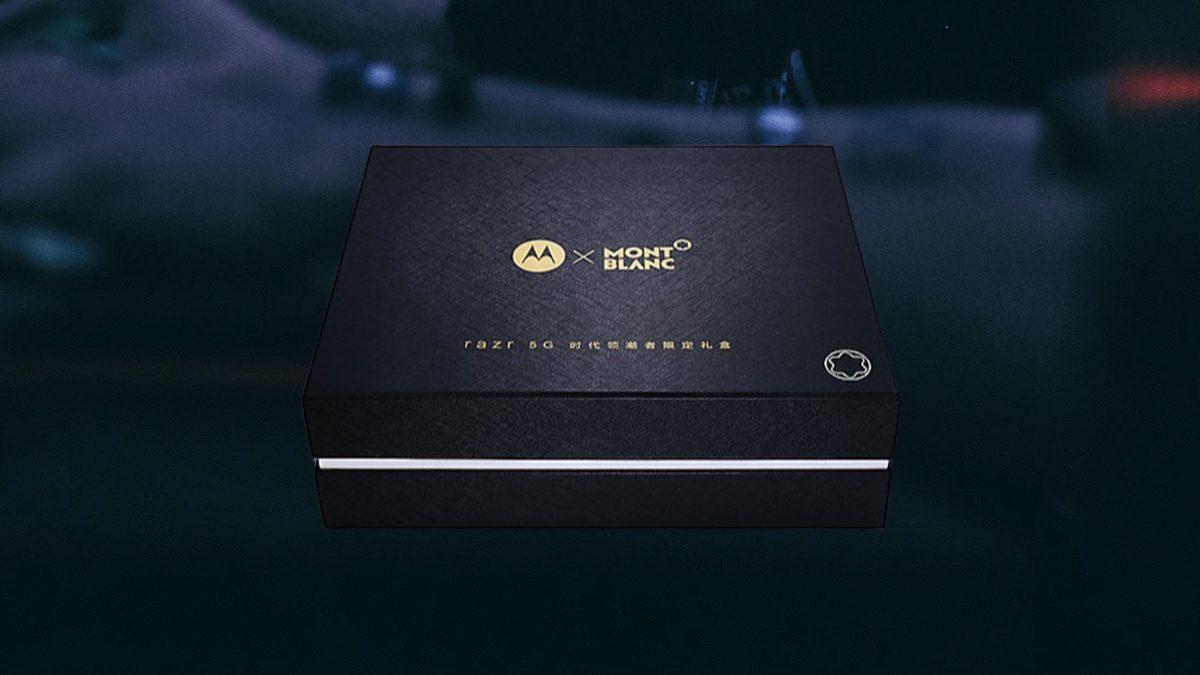 Motorola 5G razr Mont Black