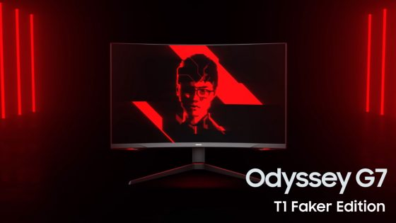 Odyssey G7 T1 Faker Edition