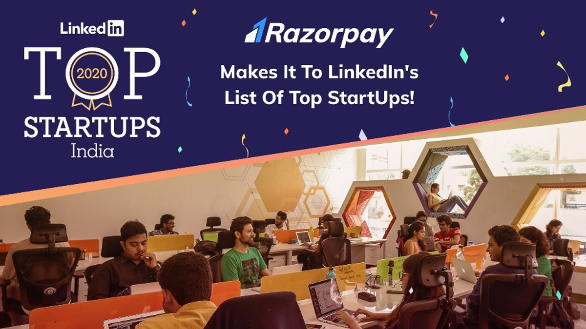 Razorpay at 6 Rank