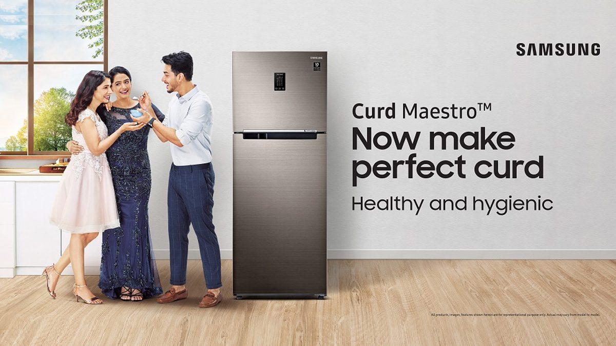 Samsung Curd Maestro Refrigerator