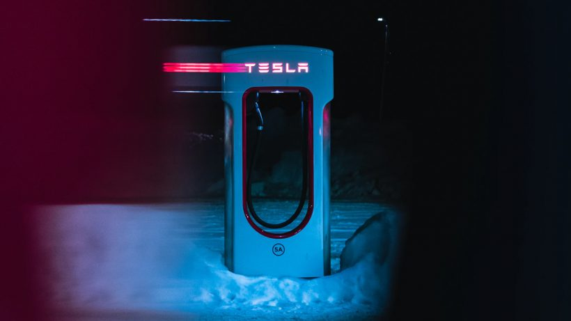 Tesla Largest Charging Station