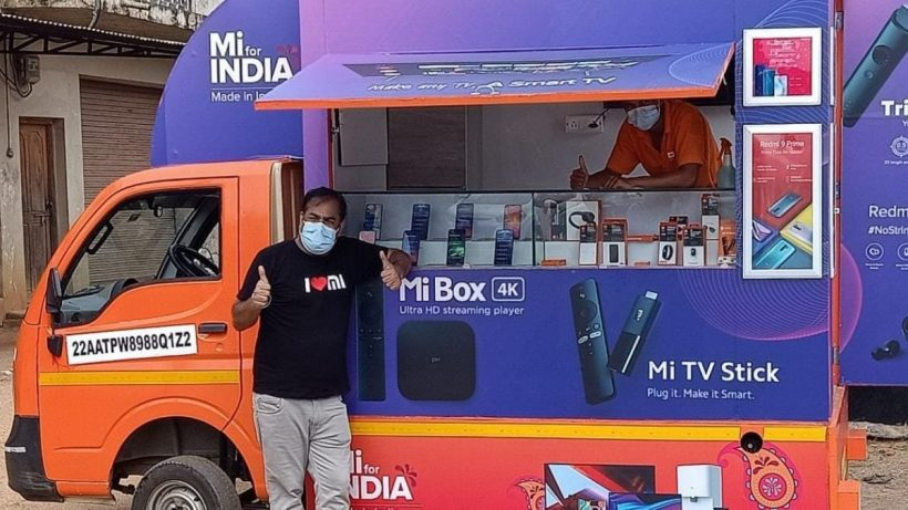 Mi Store On Wheels