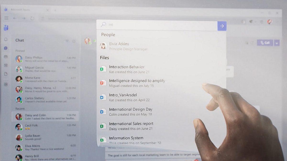 Microsoft Team Fluent UI
