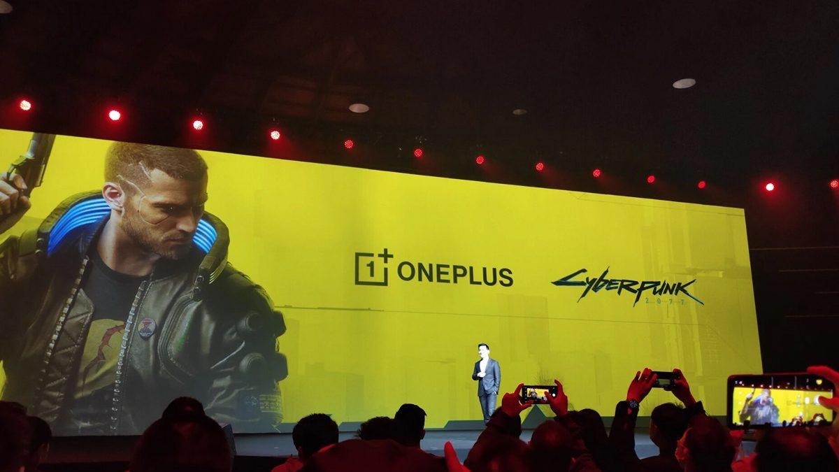 OnePlus Cyberpunk 2077-edition