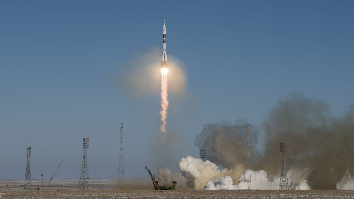 Soyuz ms 17 Launch