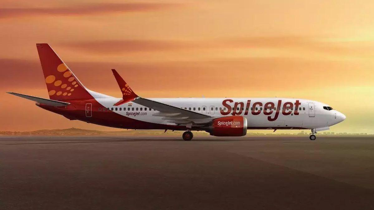 SpiceJet Flight
