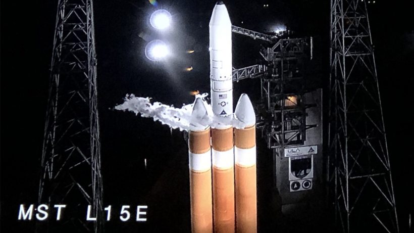 US Spy Satellite Delta IV