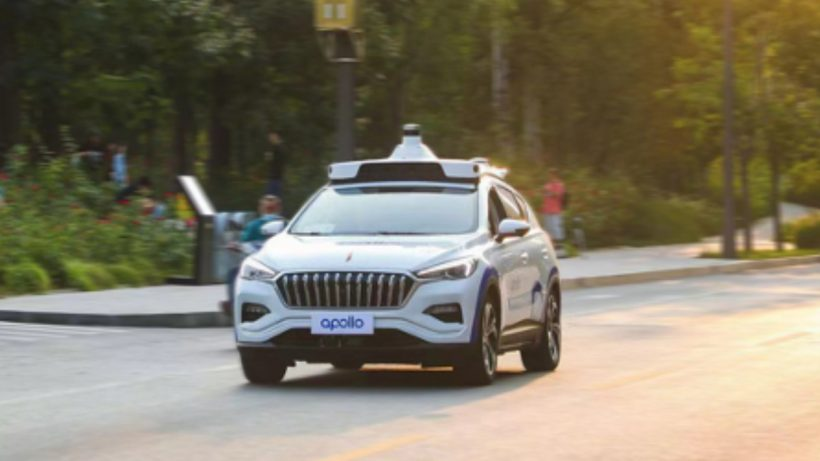Baidu Apollo Driverless Car